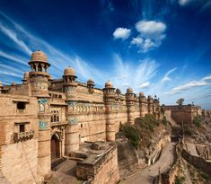 Photo about Mughal architecture - Gwalior fort. Image of edifices, historic, india - 23827079 Architecture Antique, Futuristic Architecture, Mother India, Tourist Places, Beaches In The World, Times Of India, Train Travel, India Travel, Incredible India