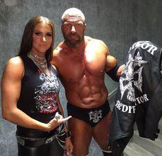 Stephanie McMahon and Triple H [ Wrestlemania 33 ]