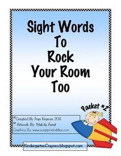 great sight word ideas