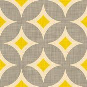 Yellow And Gray Print Pattern Fabric Patterns Color