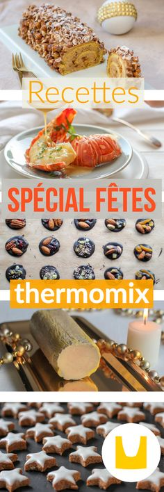 I propose here Christmas recipes at Thermomix for your Christmas and New Year's meals, but also Thermomix Desserts, Easy Desserts, Christmas Dishes, Christmas Meals, Christmas Recipes, No Salt Recipes, Brunch, Food Inspiration, Food And Drink
