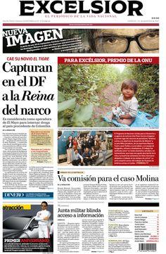 Primer lugar en periodismo de investigación por la O.N.U  Niños Jornaleros, equipo del periódico Excélsior.