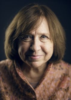 """The Nobel Prize in Literature 2015 was awarded to Svetlana Alexievich """"for her polyphonic writings, a monument to suffering and courage in our time"""". Essayist, Playwright, Drive Book, Alfred Nobel, Nobel Prize In Literature, Nobel Peace Prize, Writers And Poets, Make Beauty, Book Writer"""