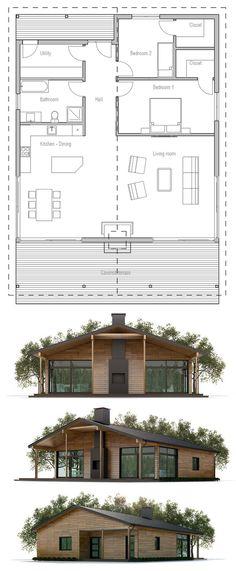 Holzhaus, Hausplan