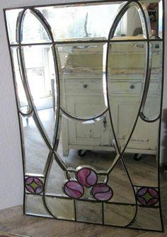 Vintage, traumhafter Spiegel, Jugendstil? von Wandeldesign auf DaWanda.com