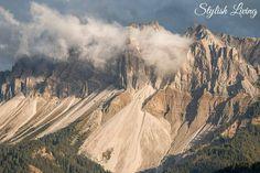 Blick vom Hotel Rosalpina auf den Peitlerkofel #Dolomiten #Berghotel #Rosalpina #Pleitlerkofel