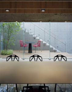 NIKE pressroom, by Torafu Architects #nike #office