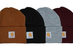 Classic Carhatt Winter's best accessories. Must get the burgundy one at the end there