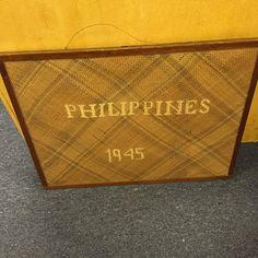 Philippines Super Cool Stuff, Primitive Antiques, Antique Art, Philippines, Signage, Auction, Billboard, Signs