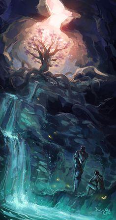 The Eldergleam Sanctuary by TheMinttu.deviantart.com on @deviantART