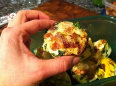 For thanksgiving breakfast...before we binge on carbs... PALEO EGG MUFFINS WITH BACON RECIPE - Paleo Recipes