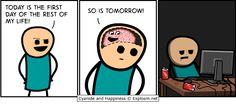 Always tomorrow right?