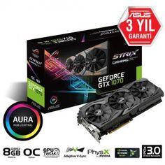 ASUS GDDR5 8GB 256-bit DVI-D HDMI x2 DP x2 PCI Express 3.0 OpenGL®4.5