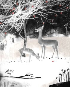 """""""Once Upon a Northern Night,"""" by Jean E. Pendziwol, illustrated by Isabelle Arsenault."""