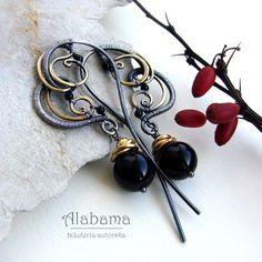 ValenTIME with brass / Alabama / Biżuteria / Kolczyki