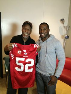 49er Nation SF Niners San Francisco 49ERS Niners for Life! Danny Glover & Patrick Willis #49ers