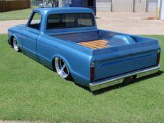 Love old school trucks!