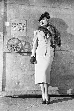 Carole Lombard on the Paramount Pictures backlot, C.1930's