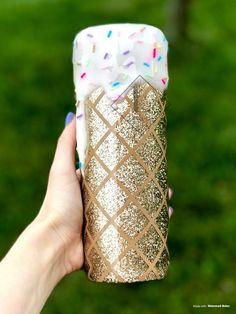 Diy Tumblers, Custom Tumblers, Glitter Tumblers, Pineapple Tumbler, Cute Cups, Fun Cup, Diy Resin Crafts, Glitter Cups, Personalized Cups