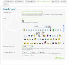 Icon-urile pentru mesaje sunt niste iconite simple ce apar langa numele subiectului. Astfel de iconite sunt folosite si pe forumul de suport.