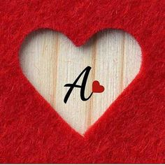 A Alphabet Letter Dp Pics Wallpaper For - Diy Crafts Love Images With Name, Love Heart Images, Cute Love Images, Cute Love Quotes, Romantic Love Quotes, Love Pictures, Love Words, Girly Pictures, A Letter Wallpaper