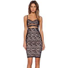 Nookie Liberty Lace Bustier Dress