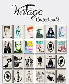 Vintage Collection posters 2 at Victor Miguel • Sims 4 Updates
