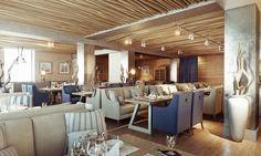 beach restaurant interior - Google Search