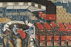 Cattle Market Braintree Print by Edward Bawden