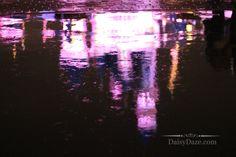 Disneyland in the rain. Photo by Sam Sparks