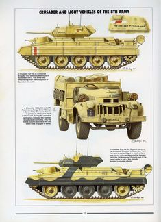 Histoire & Collections - Tanks of the WWII — Yandex. Star Wars Vehicles, Army Vehicles, Armored Vehicles, Crusader Tank, North African Campaign, Military Drawings, Model Tanks, Armored Fighting Vehicle, Ww2 Tanks