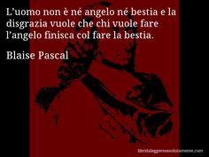 Cartolina con aforisma di Blaise Pascal (57)