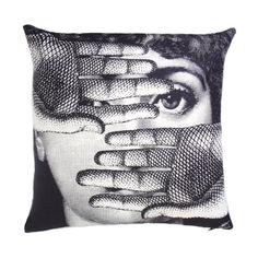 Fornasetti L'Abbaglio Pillow at Barneys.com