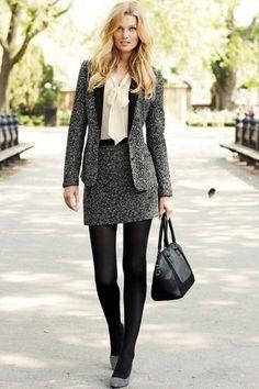 女の子らしさ満点のウールのスカートスーツ♡ アラサー(30代)女性におすすめのスカートスーツまとめ。