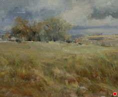 """Clearing Sky by Simon Addyman Oil ~ 20"""" x 24"""""""