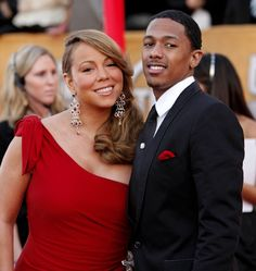 Nick Cannon and Mariah Carey at the 2010 SAG Awards in Hollywood, CA. Nick And Mariah, Mariah Carey, Tommy Mottola, Where Is The Love, Best Pictures Ever, Nick Cannon, Cute Couples, Power Couples, Famous Couples