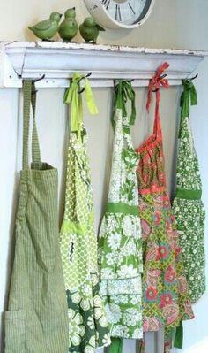Cute apron display