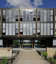 arne jacobsen, st. catherines college, oxford 05 by seier+seier, via Flickr