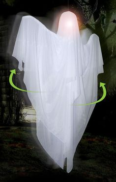 hanging rotating ghost ghost