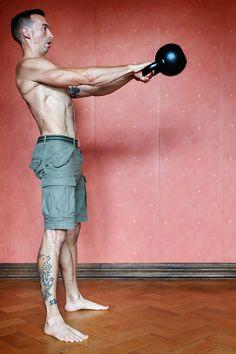 Ultimative Übungen die du unbedingt ausführen solltest: Kettlebell Swing