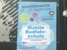 Achtung Mobile Radfahrschule - hier wird geübt! Mobiles, Cover, Books, Autos, Bicycling, Tours, Bicycle, School, Libros