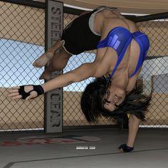 Alysha's Solo Workout 03 by Drusatis