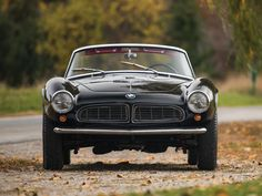 BMW 507 Roadster Mercedes Benz 300, Porsche 356, Bmw 507 Roadster, 1968 Ford Mustang Fastback, Bmw Design, Cars Characters, Bmw Alpina, Bmw Classic Cars, Pulsar