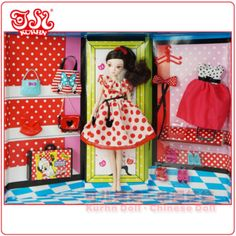 Greetings from China: Disney Toys from Abroad: Kurhn & Minnie Mouse Outfit Collection #6111-1