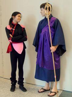 Miroku and sango cosplay