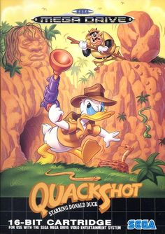 QuackShot for Sega Mega Drive, ahhh the memories