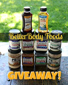 BetterBody Foods Giveaway! All organic non-GMO products, leave a comment on the blog post to enter :) Open June 1-4th! on Stronglikemycoffee.com