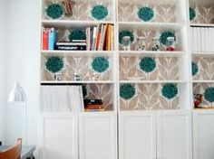 Orla Keily Wallpaper in bookcases