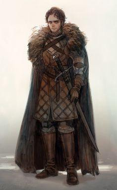 Robb Stark by prema-ja on deviantART