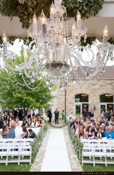 Stunning outdoor garden ceremony photos at Patrick Haley Mansion Joliet Chicago Photo by MILLER + MILLER PHOTOGRAPHY See more photos from several PHM weddings at http://www.chicagoillinoisweddingphotography.com/category/patrick-haley-mansion-wedding-photographer/
